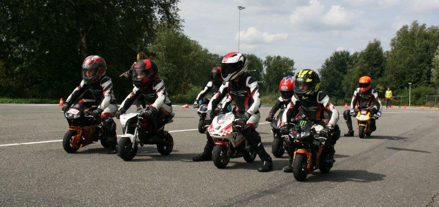 RACE-KIDS nieuws: Prachtig racekamp en veel hectiek omtrent gestolen motoren